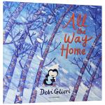 走着走着就到家了 英文原版绘本 All the Way Home 儿童英语图画故事书 英文版原版书籍 亲子互动 进口平