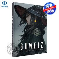英文原版 Guweiz 原画师Guweiz插画作品集 The Art of Gu Zheng Wei 进口艺术书 日系漫