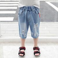 男童短裤夏装新款儿童夏季童装宝宝牛仔裤子小孩子宽松马裤潮