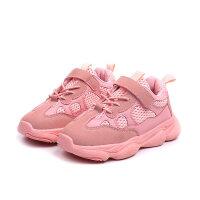 女童运动鞋秋季新款儿童鞋小白网鞋中大童老爹透气鞋子男童鞋