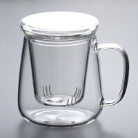 耐热玻璃杯 加厚玻璃茶杯子花茶杯泡茶杯