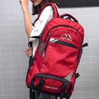 旅行双肩包男户外尼龙大容量登山包防水轻便运动徒步旅游功能背包