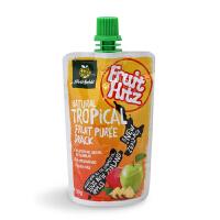 新西兰喜滋果果泥热带水果味2段进口果泥宝宝辅食水果泥12个月+