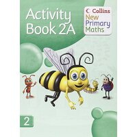【预订】Collins New Primary Maths. 2a, Activity Book 9780007220