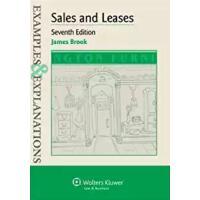 【预订】Examples & Explanations: Sales & Leases 7e 978145483393