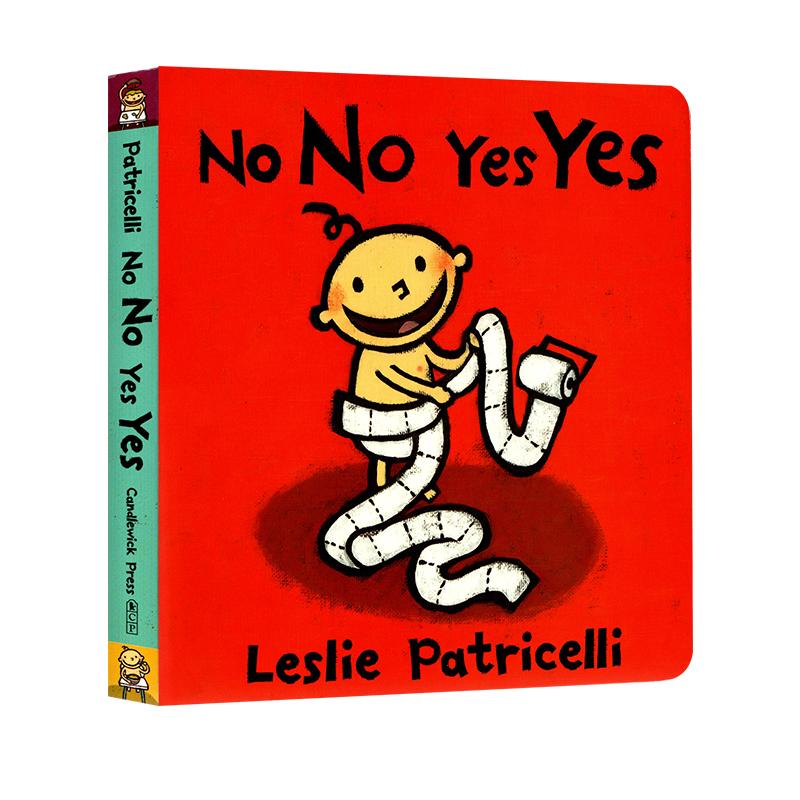 现货英文原版 No No Yes Yes 幼儿启蒙纸板书 可以做的和不可以做的 儿童英文绘本