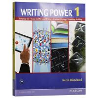 写作的力量1 英文原版 Writing Power 1 培生写作指导书 英文版 进口原版英语书籍
