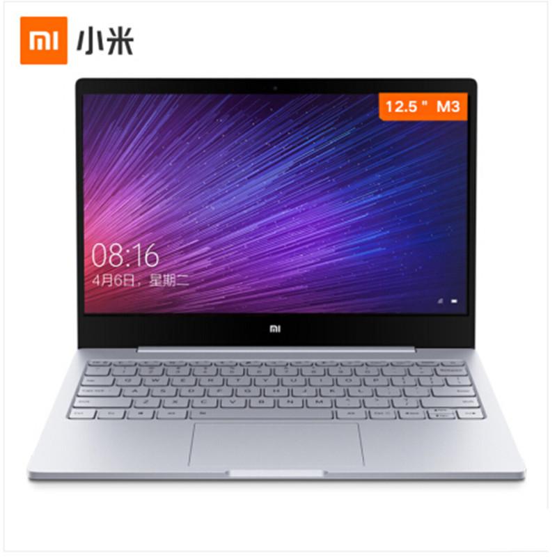 小米(MI) Air 超极本 12.5英寸笔记本电脑 金属超轻薄商务办公手提上网本 【银色】M-7Y30 4G 256G 全高清屏 背光键盘 Win10  office 超薄性价比之选,轻薄本,