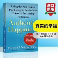 华研原版 真实的幸福 英文原版 Authentic Happiness 【现货】积极心理学之父塞利格曼 英文版