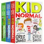 麻瓜小子系列3册 英文原版小说 Kid Normal 麻瓜小孩 英雄 英文版儿童文学小说书 进口中小学生英语课外阅读