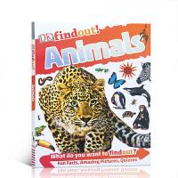 【全店300减100】英文原版 DK Find Out! Animals 小发现动物 DK发现知识系列 儿童英语启蒙认知