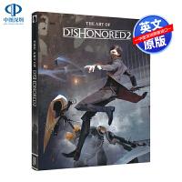 英文原版 耻辱2 游戏艺术设定集 精装概念艺术画集 The Art of Dishonored 2 设计原稿 Arkan