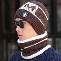 帽子男士冬季毛线帽潮针织套头帽保暖冬天户外帽青年棉帽