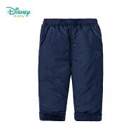 【秒杀价:52】迪士尼Disney童装 男女宝宝三层夹棉裤子冬季新品儿童加绒保暖长裤 194K922