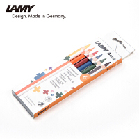 LAMY 凌美 4+ 6色彩铅套装