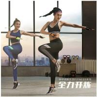 李宁女子运动长裤训练系列紧身收口弹力透气舒适健身长裤女款AULM122