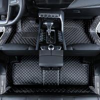 适用jeep指南者脚垫全包围汽车双层丝圈专用2019款吉普自由光脚垫