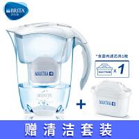 碧然德BRITA厨房净水器过滤芯自来水家用净水壶尊享|探索者3.5L白【1壶1芯】