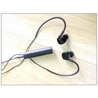 无线双耳运动蓝牙耳机 立体声领夹式入耳转音响箱车载音频接收器SN2285 bt9黑 接收器+耳机+转接头 标配
