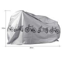电轿外套自行车罩电动山地防雨防尘防灰单遮阳防晒 (200cmX105cm)适用于自行车/电动车/摩