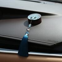 创意女士汽车香水摆件民族风车内装饰车载用品漂亮中控台摆设