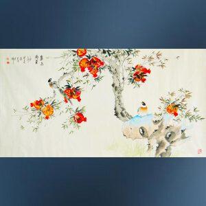 省美协  姜晓英   金玉满堂   /04