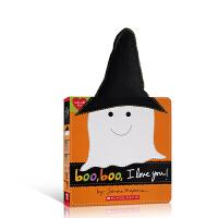 【全店300减100】英文原版 Boo, Boo, I Love You! (Made with Love) 嘘,嘘,我