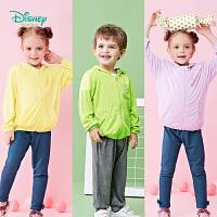 迪士尼Disney童装 宝宝连帽防晒服夏季新款男女童轻薄透气外出服皮肤衣192S1122