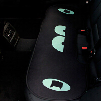夏季汽车卡通坐垫四季通用三件套座垫可爱子女神款单片无靠背屁屁 蝙蝠后排