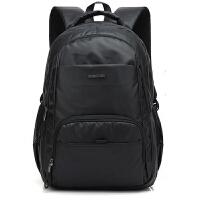 男士双肩包休闲商务背包学生书包防水潮男女旅行电脑包