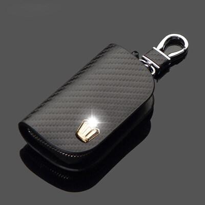 于丰田新皇冠钥匙包金王冠CROWN遥控器真皮汽车保护套男女士