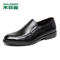 木林森男鞋 2018春夏新款商务正装 05187002