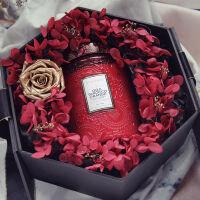 大浮雕杯卧室精油香薰蜡烛香氛家用安神助眠室内结婚礼物