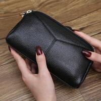 新款日韩长款女士钱包贝壳手机包钱夹拉链手拿包钥匙零钱包女