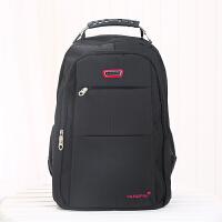 自由派商务双肩包男士背包多功能时尚旅行包休闲大容量防水电脑包