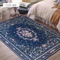美式地毯客厅茶几地毯欧式乡村现代家用可机洗卧室地毯床边毯家用