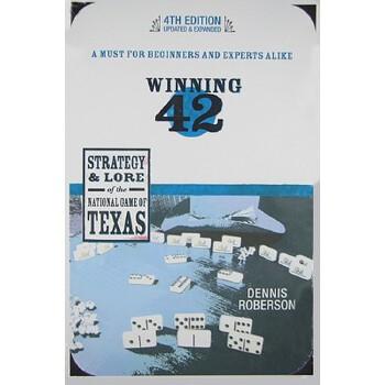 【预订】Winning 42: The Strategy and Lore of the National Game of Texas (Fourth Edition) 预订商品,需要1-3个月发货,非质量问题不接受退换货。