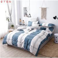 大学生宿舍被褥套装纯棉单人床上用品六件套被子褥子枕头全套0.9m床单三件套棉被褥公寓床品套装