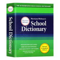 韦氏学生英语词典 英文原版 Merriam Webster's School Dictionary 英文版字典辞典工具书