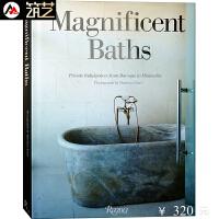 Magnificent Baths奢华浴室 SPA水疗空间及豪华住宅卫生间洗手间装饰装修设计书籍