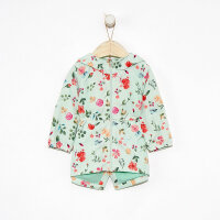 【1件2.5折到手价:74.8】moomoo童装女童风衣新款春装印花夹里洋气小儿童宝宝外套