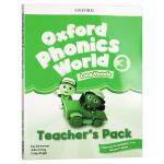 新版 牛津自然拼读教材教师书3 英文原版 Oxford Phonics World Level 3 Teacher's