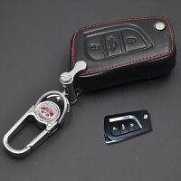丰田钥匙包凯美瑞RAV4卡罗拉雷凌普拉多汉兰达皇冠汽车专用钥匙扣钥匙套