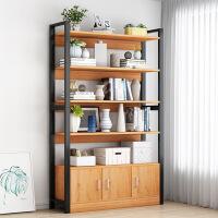【海格勒】铁艺书架隔断置物架子多层展示架货架简约落地多功能简易收纳书柜