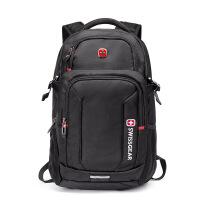 瑞士军刀 双肩包旅行背包书包男士双肩包15.6寸电脑包时尚休闲学院风