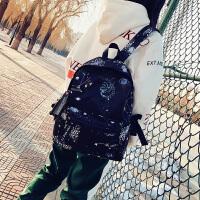 牛津布�p肩包女�n版潮2018新款百搭�r尚尼��中�W生��包大容量背包