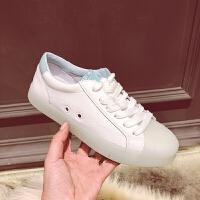 ins街拍板鞋女士春季2018新款韩版ulzzang原宿百搭学生休闲小白鞋