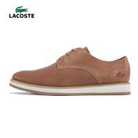 LACOSTE 法国鳄鱼 牛皮革男鞋 复古潮鞋 休闲鞋 低帮鞋 32CAM0076