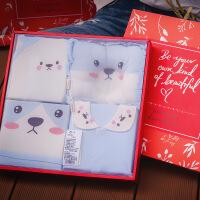 新生儿礼盒婴儿衣服0-3个月6纯棉套装春秋夏季初生宝宝用品满月礼
