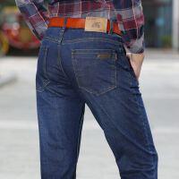 AFS JEEP男士牛仔裤战地吉普长裤宽松大码直筒秋季简约裤子春5896